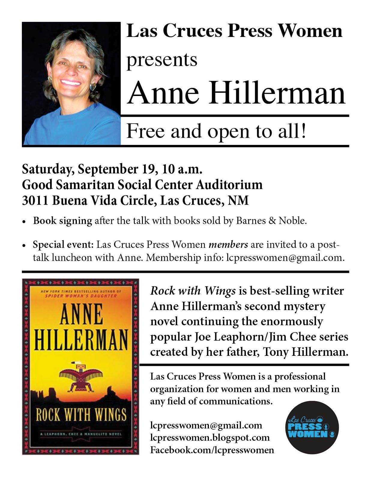 Anne Hillerman book talk