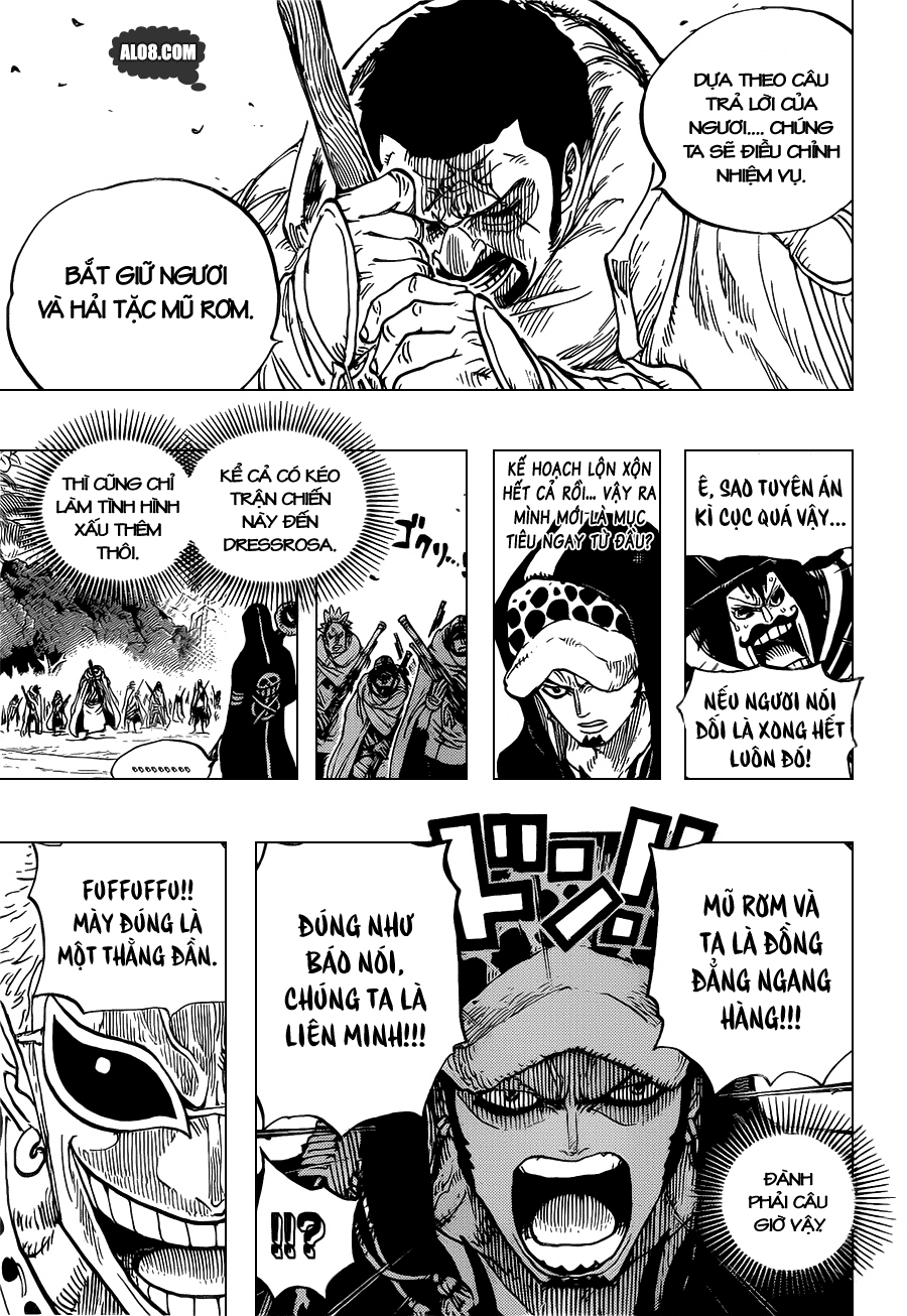 One Piece Chapter 713: Usoland 005