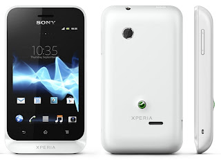 Sony's Android 4.0 phone Xperia Tipo
