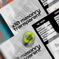 X10 Mansory Transparent