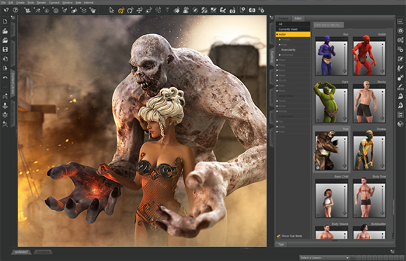 Free download daz 3d software animation and riview Create 3d model online free