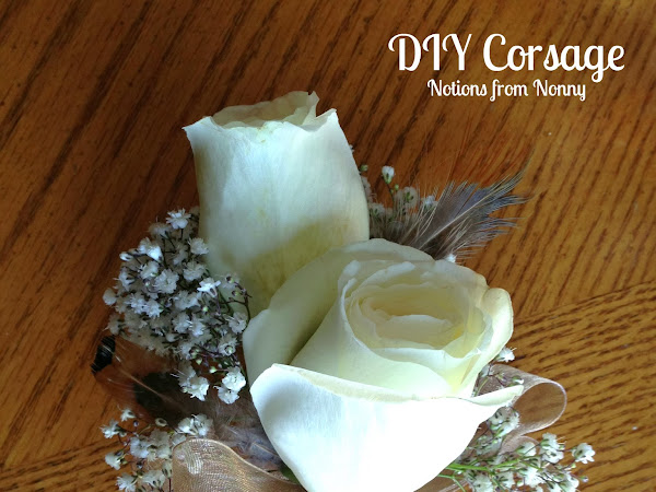 Today's Project: DIY Corsages