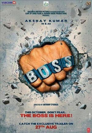 akshay kumar s boss poster 2013 star cast akshay kumar mithun