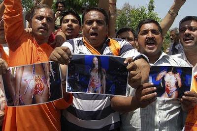 Hindus protest Goddess Lakshmi swimsuit