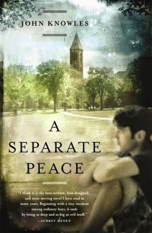 the cover of A Separate Peace by John Knowles
