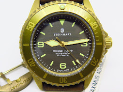 STEINHART OCEAN ONE 300m LIGHT BROWN DIAL BEZEL BRONZE CASE - AUTOMATIC ETA 2824-2