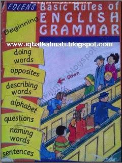 Basic Rules of English Grammar for Nursery