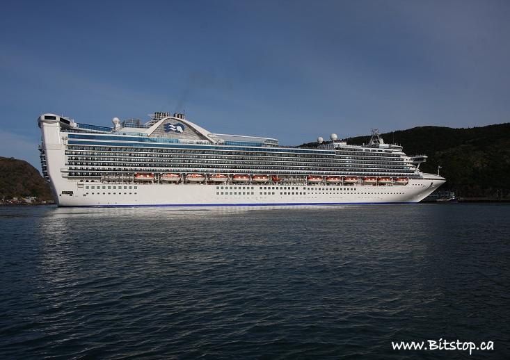 Bitstop Caribbean Princess Cruise Ship