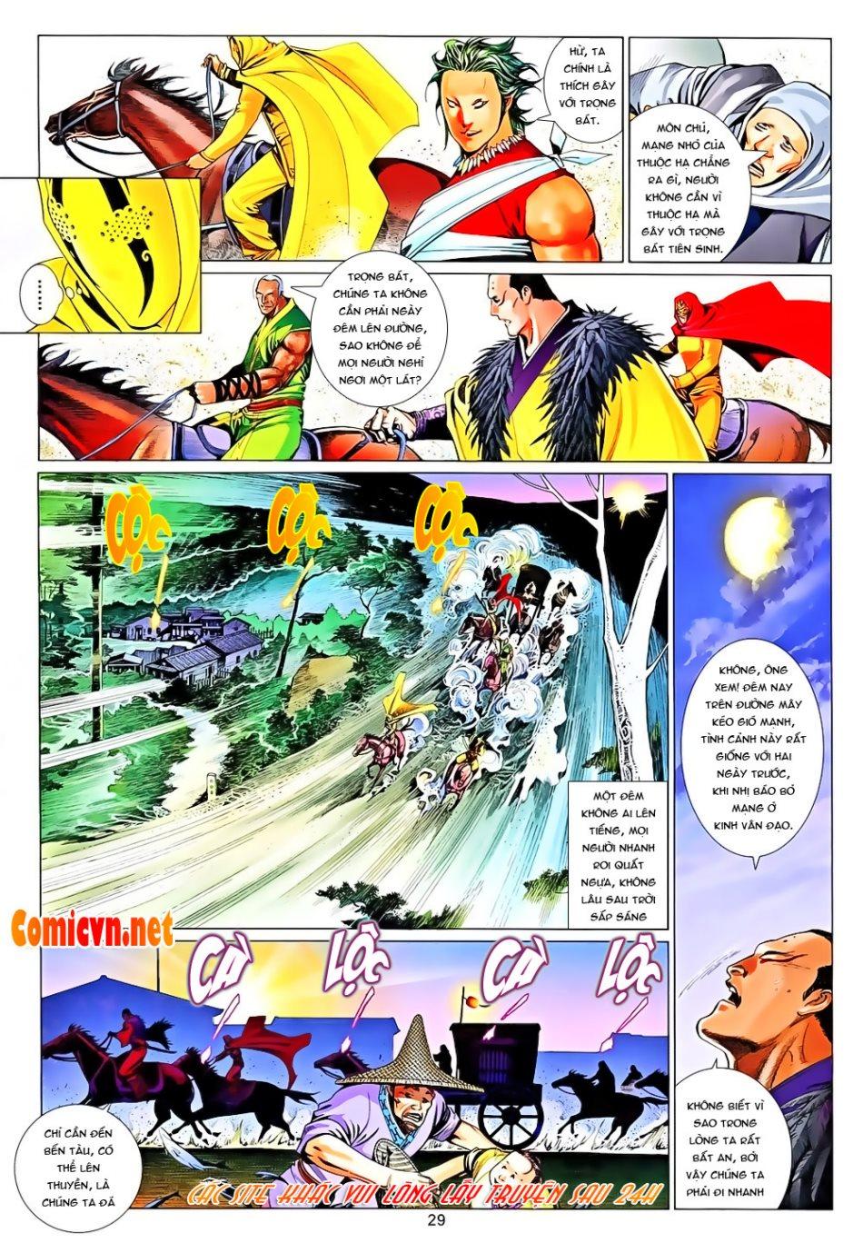 Phong Vân chap 650 Trang 29 - Mangak.info