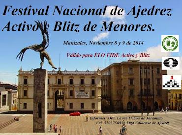 Manizales: IRT Festival Nacional Ajedrez Activo y Blitz de Menores 2014 (Dar clic a la imagen)