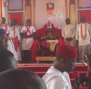 Coronation of 20th Olu of Warri, Ogiame Kenwoli I