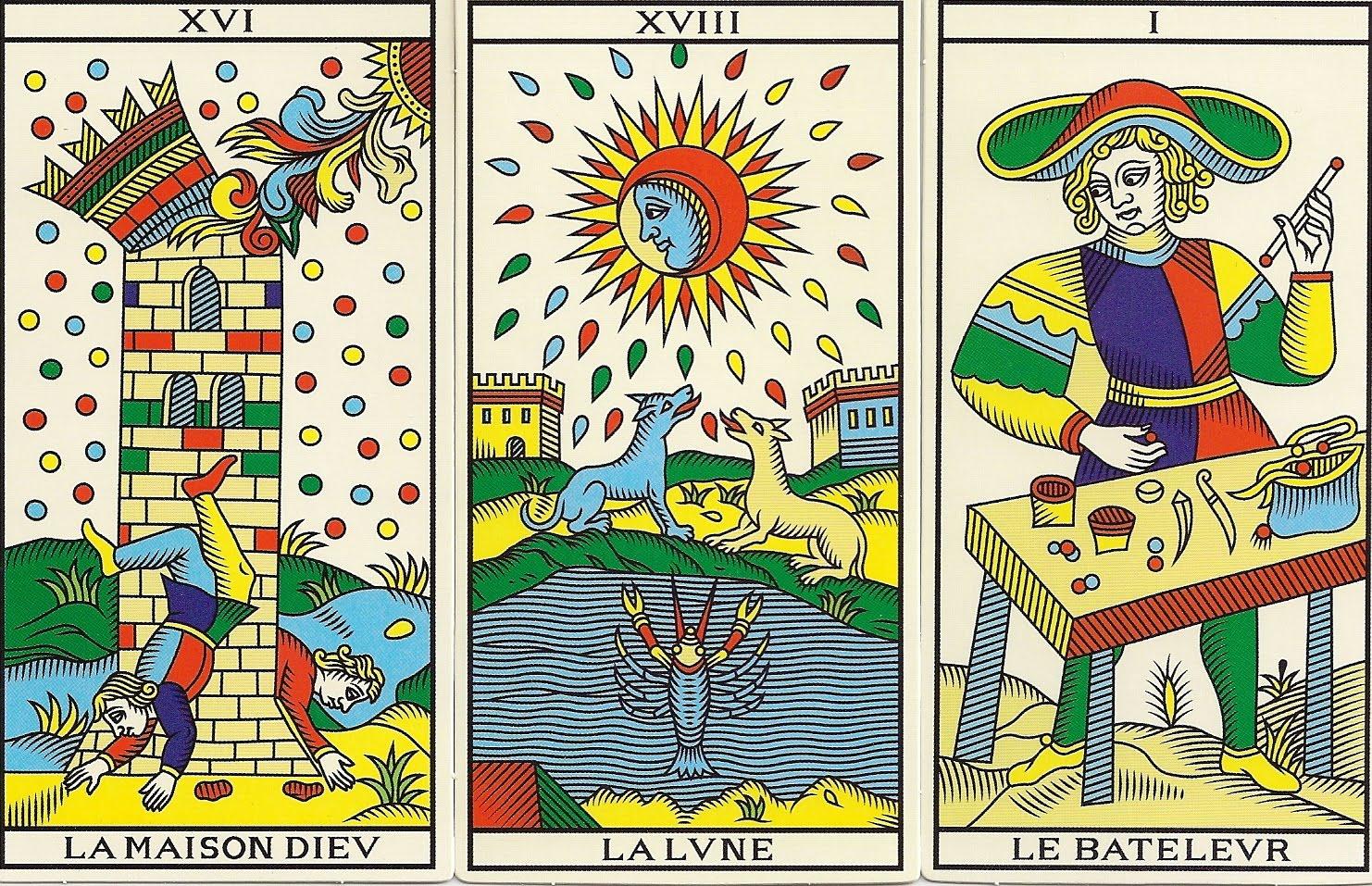 how to read marseilles tarot cards