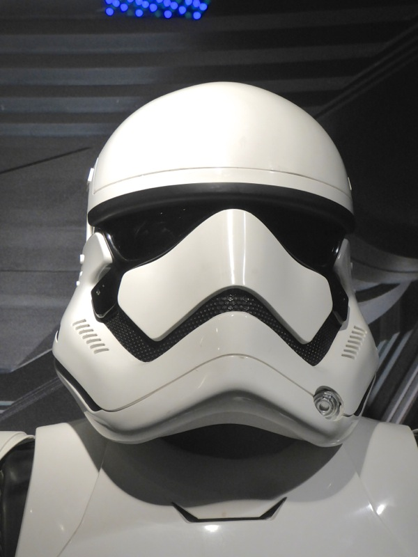 Star Wars Force Awakens First Order Stormtrooper helmet