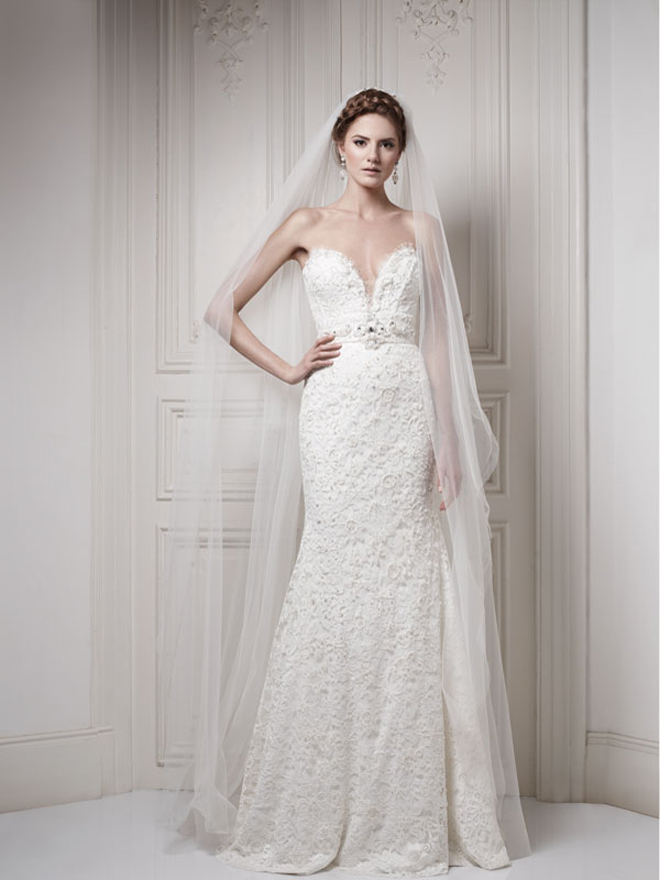 Ersa atelier 2014 my dress of the week belle the magazine for Ersa atelier wedding dress
