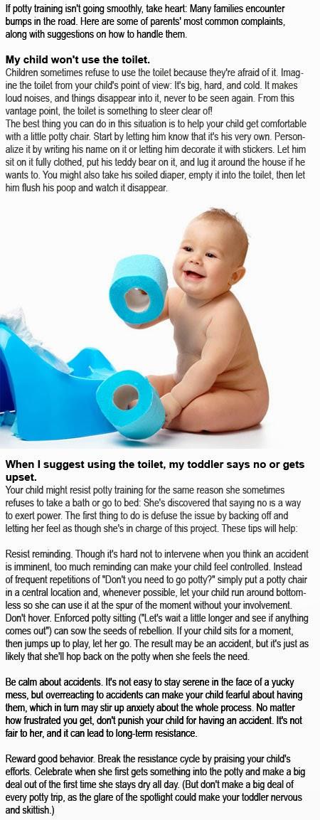 Potty training problems