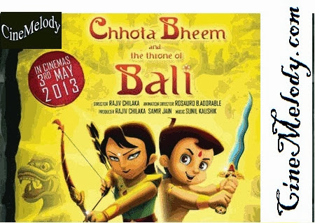 Chhota Bheem And The Throne Of Bali  Hindi Mp3 Songs Free  Download  2013