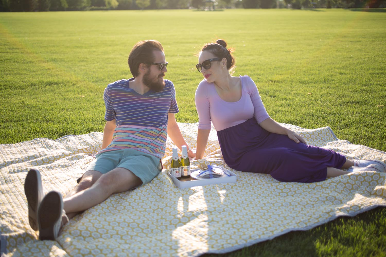 Couples Picnic Style