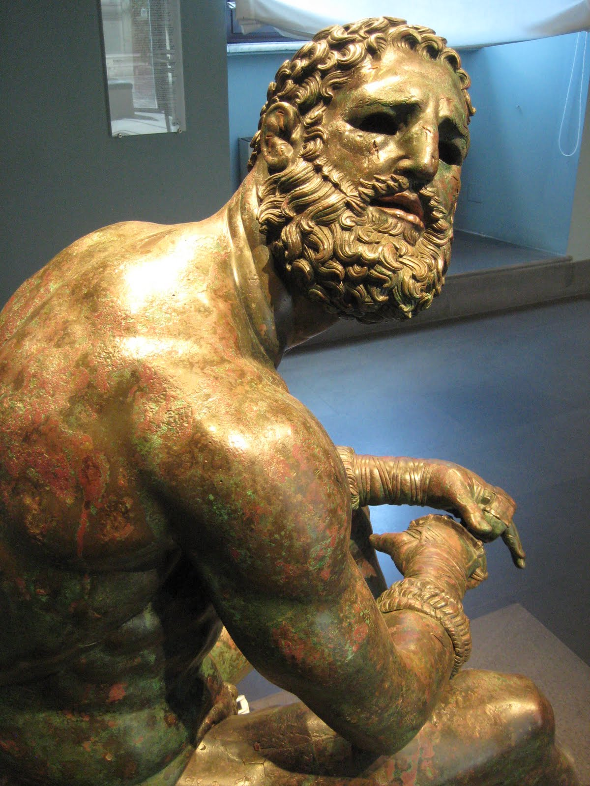 Boxer of Quirinal at the Palazzo Massimo alle Terme.