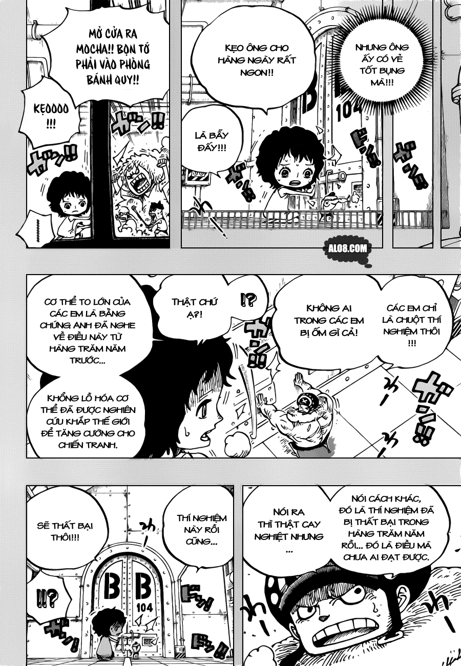 One Piece Chapter 688: Mocha 008