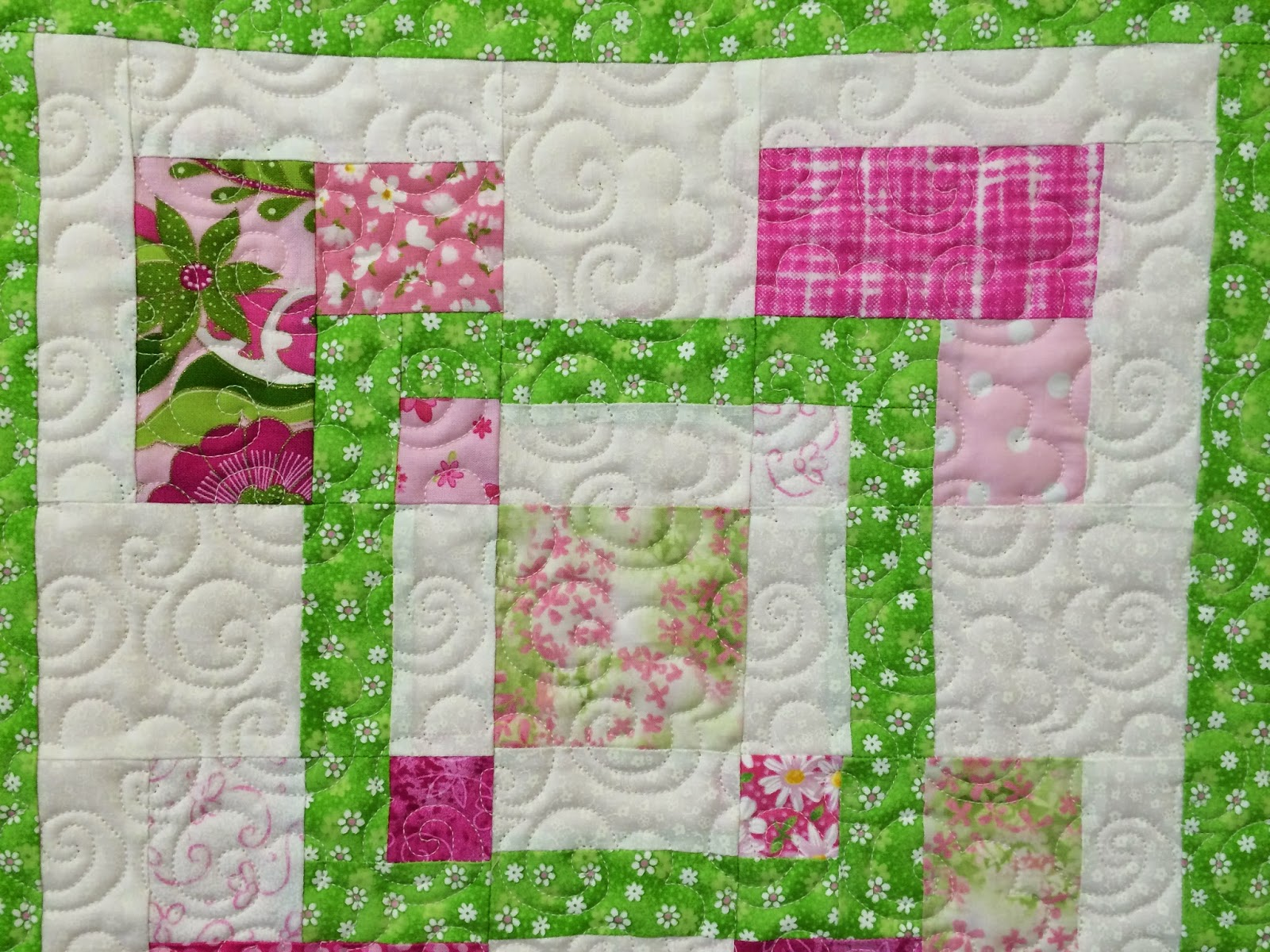 Lisa McCluer's Doll Size Quilt