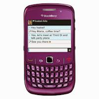 BlackBerry Smartfren 8530 - Ungu