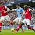 EPL FT: Arsenal 2-2 Manchester City, Nasri Melopong!