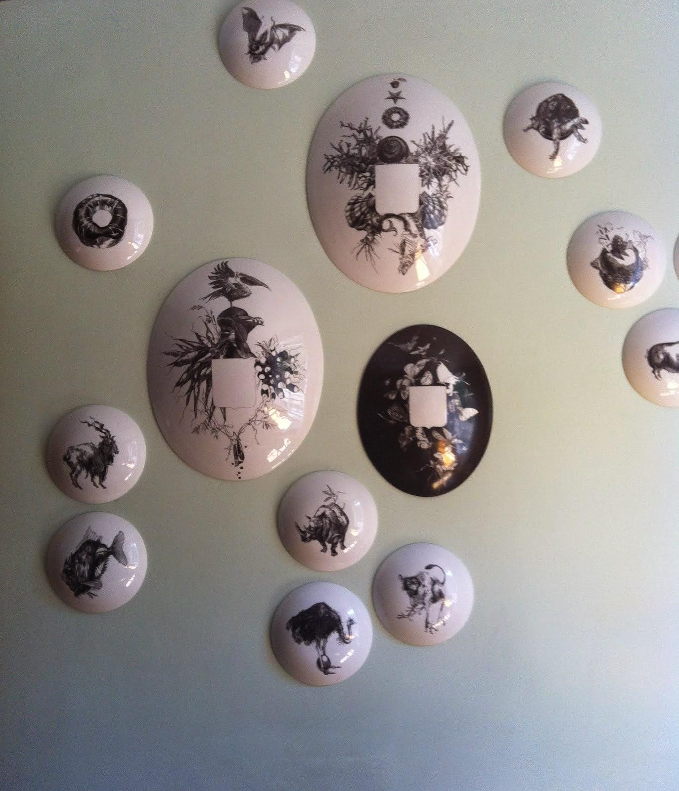 Catherine GRAN porcelaine murale