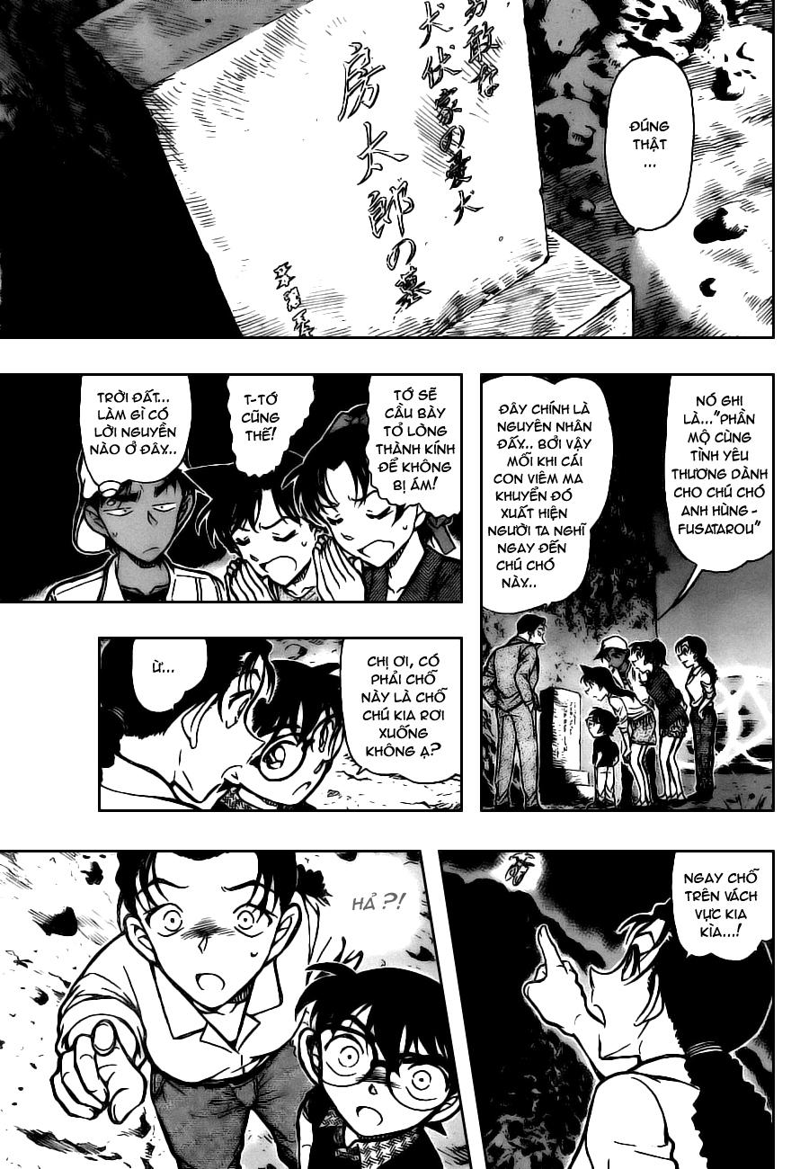 Detective Conan - Thám Tử Lừng Danh Conan chap 736 page 13 - IZTruyenTranh.com