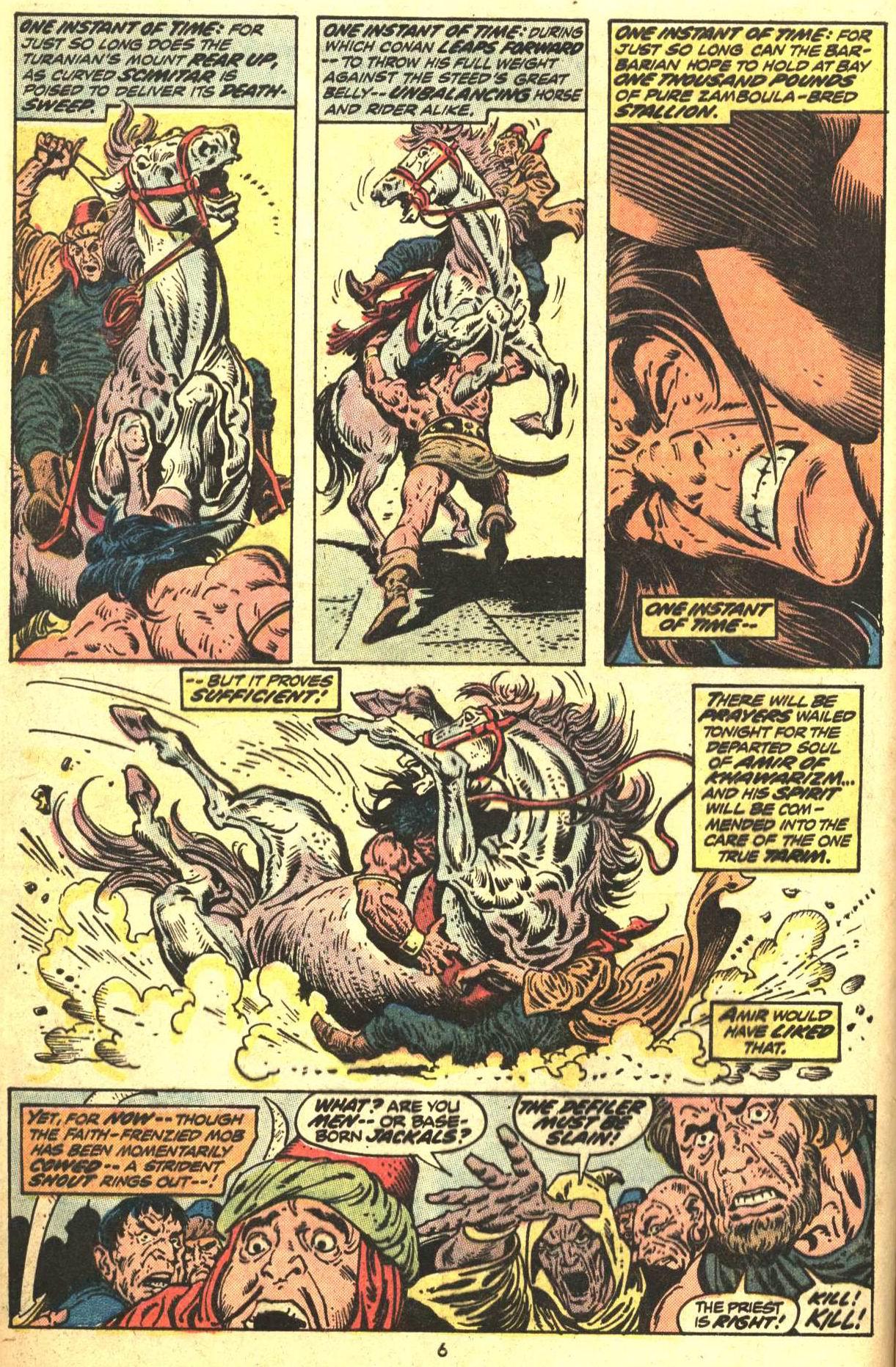 Conan the Barbarian (1970) Issue #29 #41 - English 6
