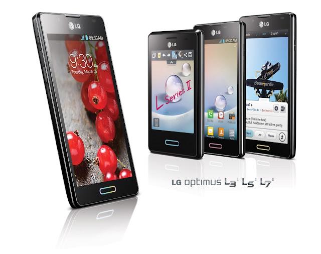 LG renueva la familia Optimus L