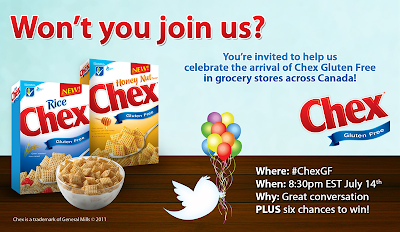 Chex Party Invite