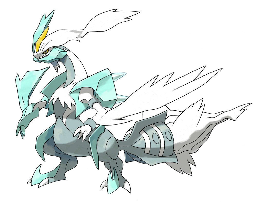 Pokemon black and white 2: Kyurem forms