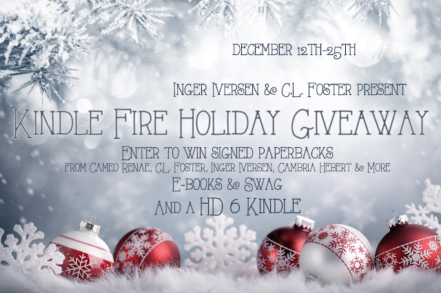 Holiday Kindle Giveaway!