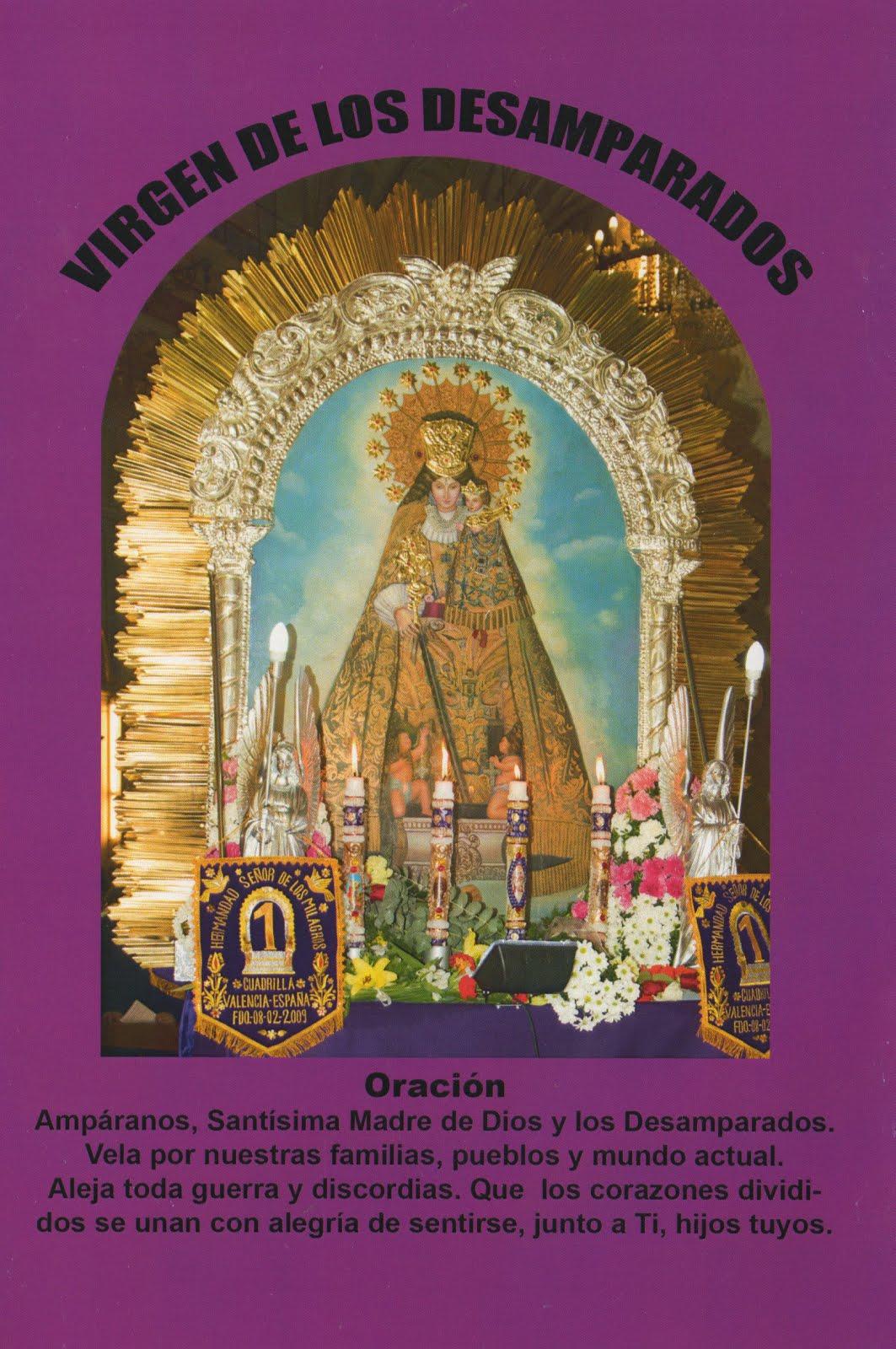 Santísima Virgen de los Desamparados