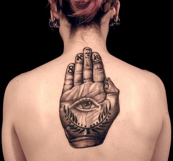Magical mystical hamsa hand of fatima changing hands for Hand of fatima tattoo