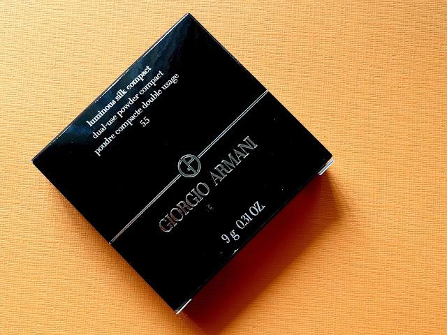 Giorgio Armani Luminous Silk Compact in 5.5 Review, Photos, Swatches