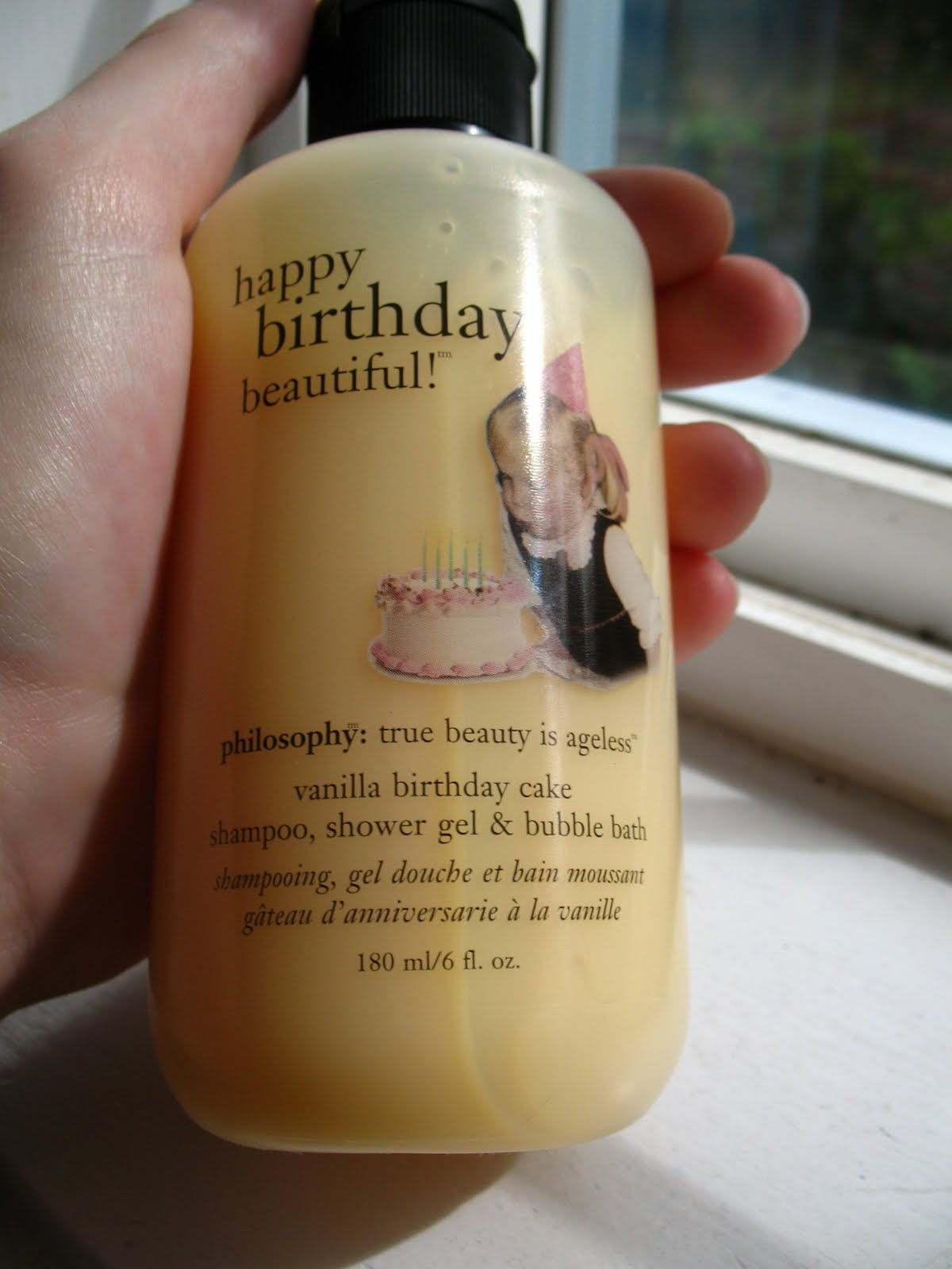 Beyond Just Beauty Philosophy Vanilla Birthday Cake