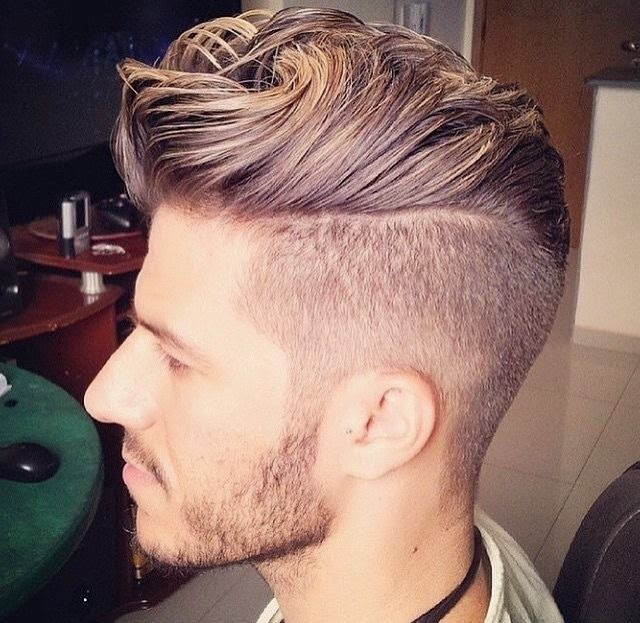 new fresh hairstyle for men