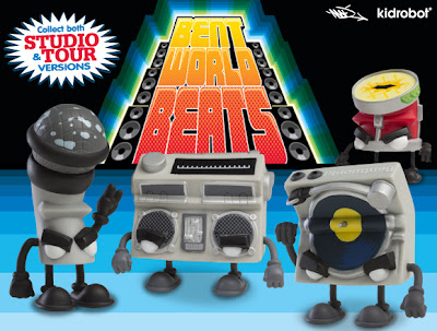 Kidrobot - Bent World Beats Mini Figure Series by MAD