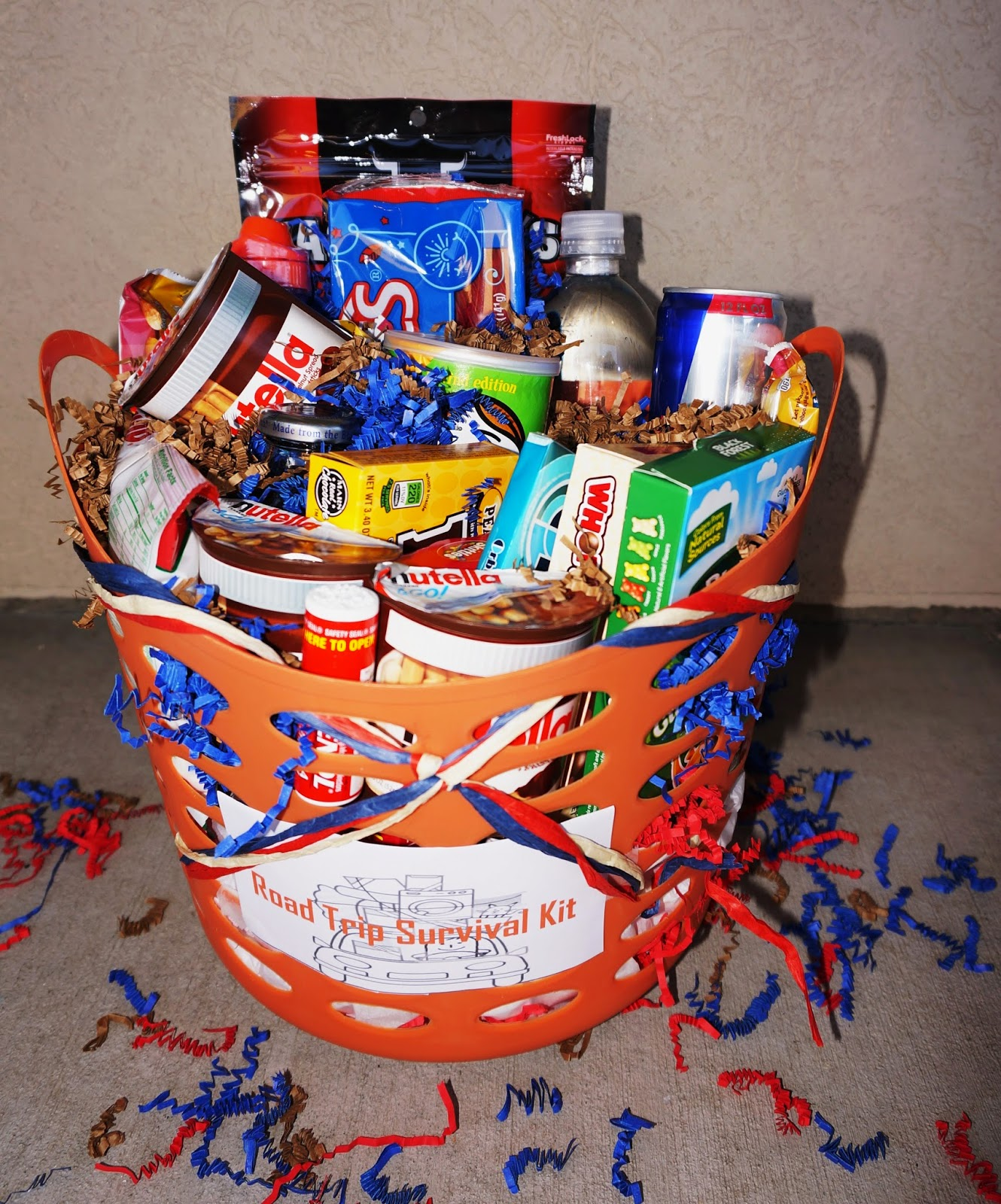 Homemade gift baskets negle Gallery