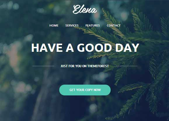Elena – Responsive Email Template