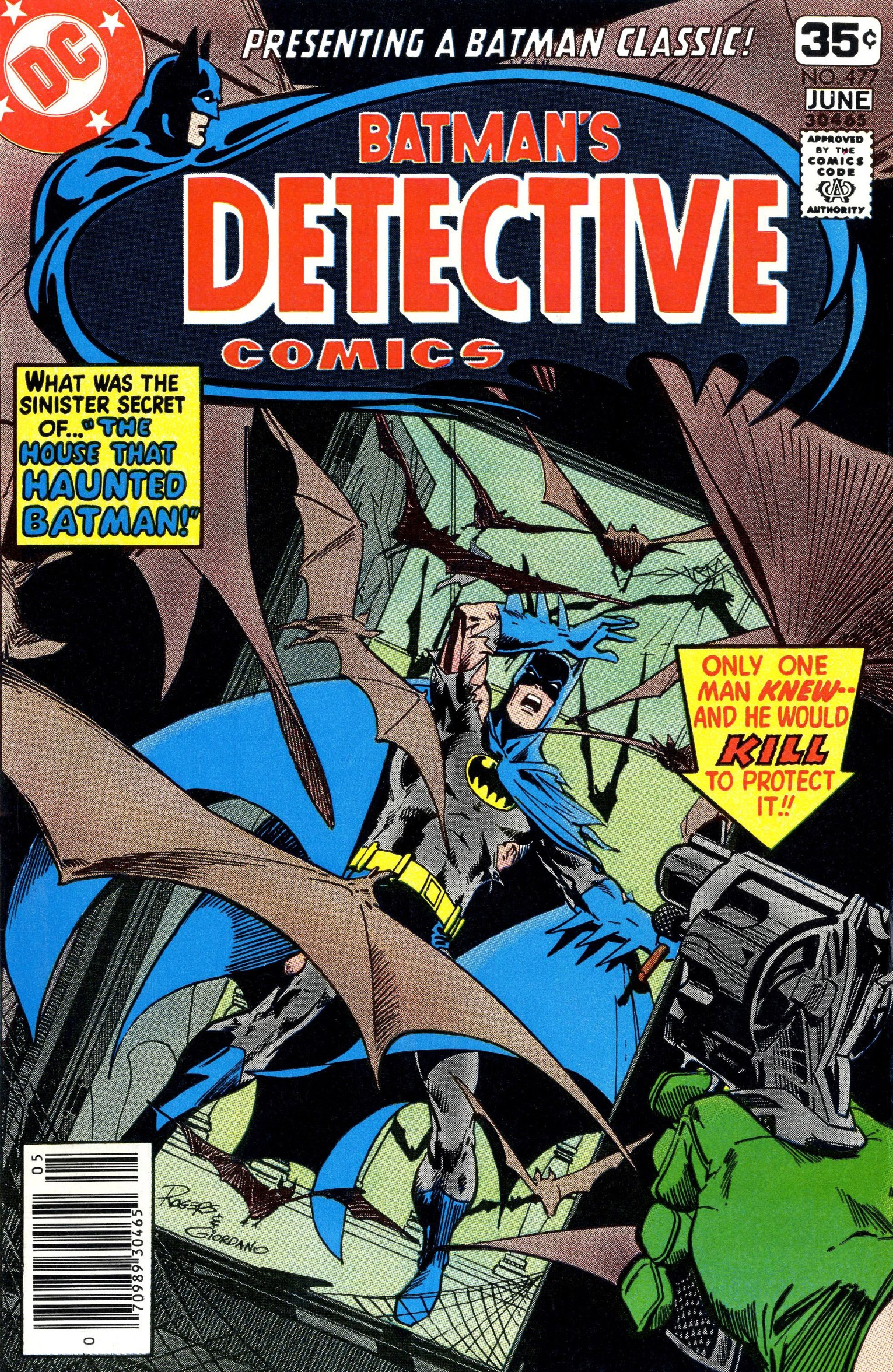 Detective Comics (1937) Issue #477 Page 1