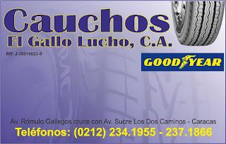 CAUCHOS EL GALLO LUCHO, C.A. en Paginas Amarillas tu guia Comercial
