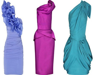 yepyeni elbiseler - 2011 asimetrik kesim gece k�yafetleri