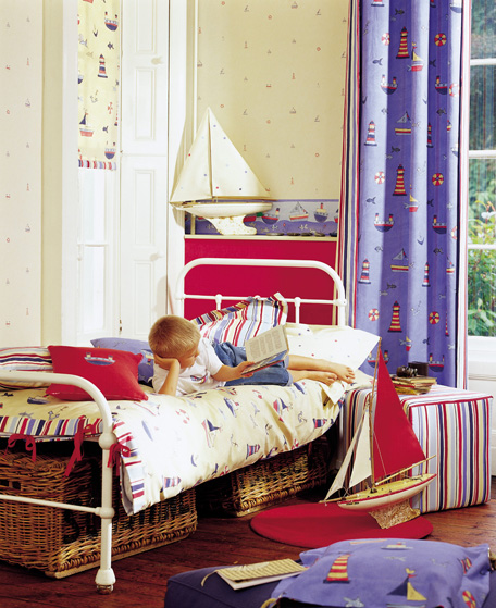 Cool Bedroom Ideas For Girls: Roses And Rust: Bedrooms For Boys