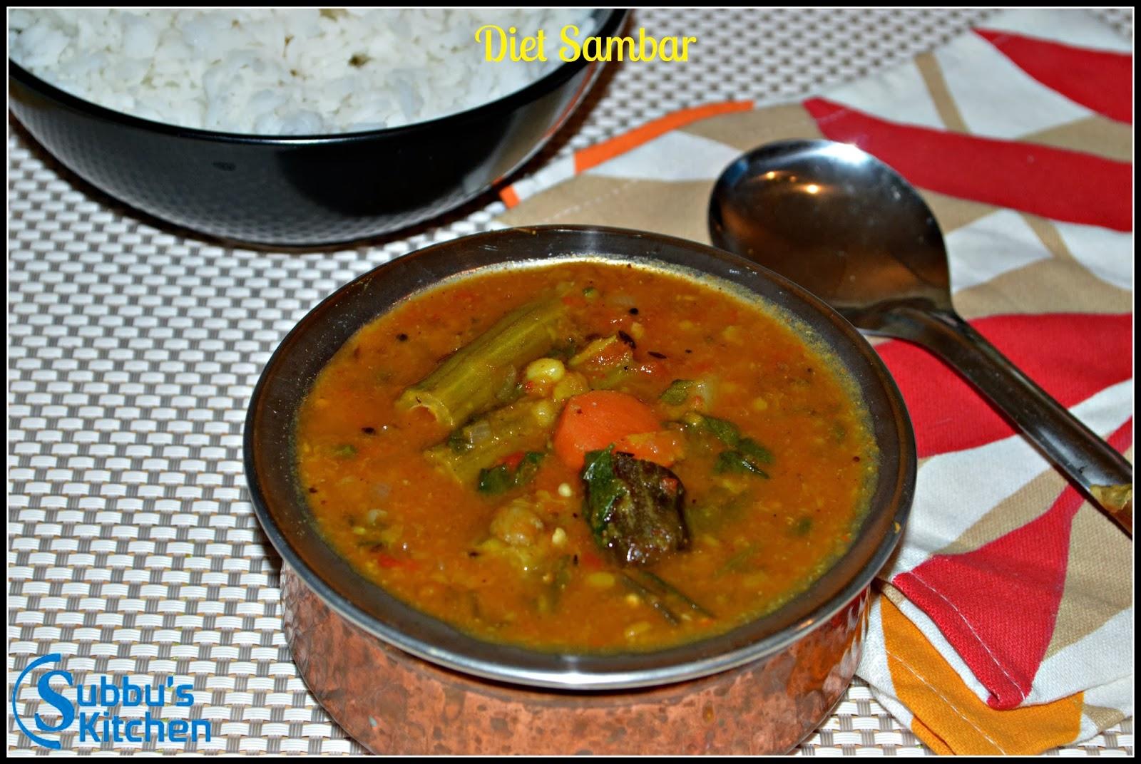 Diet Sambar