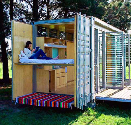 How About A Mobile Vacation Home That 39 S Made From A Shipping Container Meet The Port A Bach