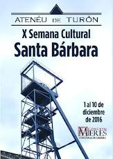 X Semana Cultural Santa Bárbara (Ateneo de Turón)