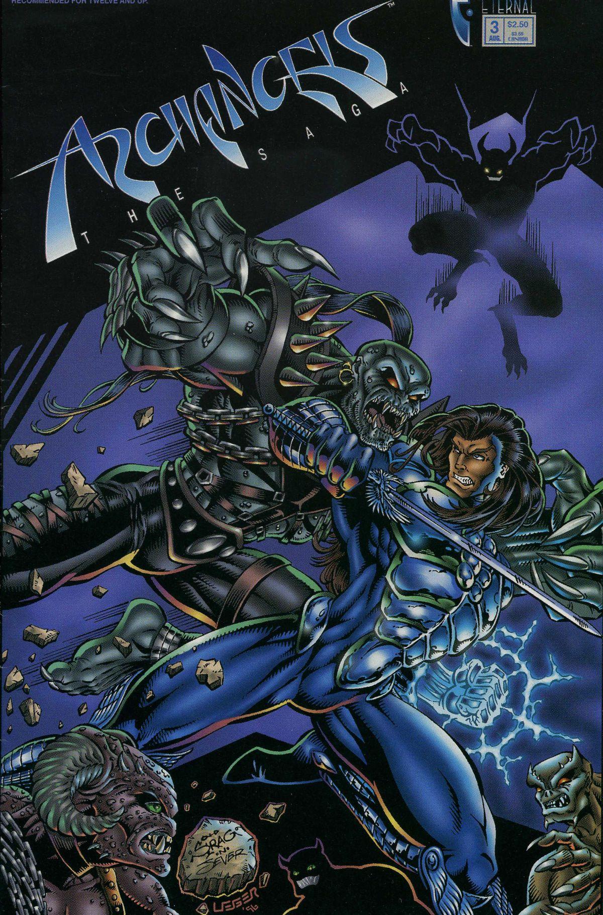 ArchAngels: The Saga 3 Page 1