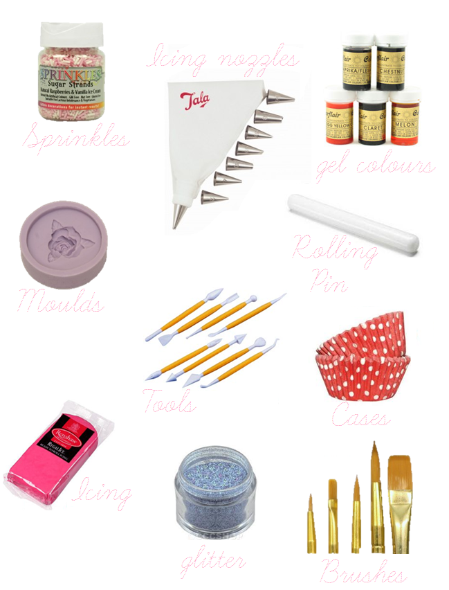 Cake Decorating Kit For Beginners : Beginners Cake Baking + Decorating Essentials   Victoria ...